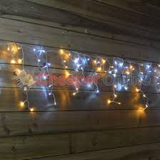Outdoor Christmas Icicle Lights Sale by Snowtime Outdoor Led Multi Function Christmas Icicle Lights In