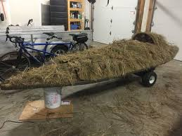 Duck Blind Accessories Building A Kara Hummer Layout Duck Boat 27 Brushing The Boat