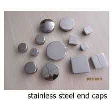 Handrail End Cap Tube End Cap Stainless Steel End Cap Round Post End Cap