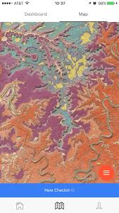 Moab Utah Map by Uw Madison Geoscientist Offers Free Geologic Exploration App