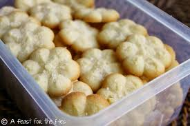 a feast for the eyes spritz cookies swedish butter cookies
