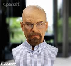 walter white halloween costume breaking bad walter white life size bust by supacraft sideshow