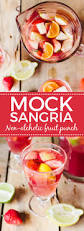 mock sangria recipe alcoholic fruit punch fruit punch and sangria