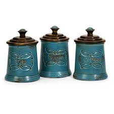 turquoise kitchen canisters finding best kitchen canister setshome design styling