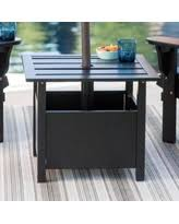 Umbrella Side Table Surprise Deal Belham Living Outdoor U0026 Patio Side Tables