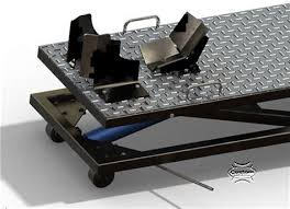 motorcycle lift table plans pdf diy how to make a motorcycle lift table download how build