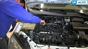 change spark plugs ford focus user manuals