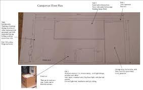 Conversion Van Floor Plans Touring Europe In A Campervan