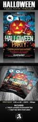 free halloween party flyer template download halloween party