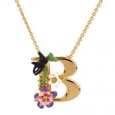 jewelry necklace letters images Necklace alphabet fleuri letter x jpg