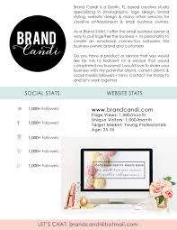 Small Business Owner Resume Media Kit Template