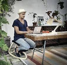 si e ergonomique varier chaise assis genoux cool si ge de bureau ergonomique fauteuil assis