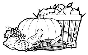 thanksgiving holiday pumpkin turkey dinner halloween coloring