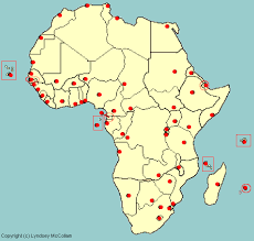 africa map quiz capitals test your geography knowledge africa capital cities quiz