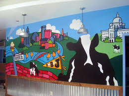 modern mural childrens murals the art of life