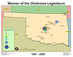 Oklahoma State Map About The Women Of The Oklahoma Legislature Collection