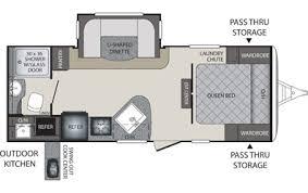 30 Ft Travel Trailer Floor Plans Bullet Premier Travel Trailers Ultra Lite Keystone Rvs