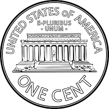 best hd penny clip art displaying images for lincoln memorial