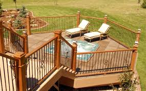 Wrought Iron And Wood Banisters Railings Iron Aluminum Vinyl U0026 Pvc All4fencing