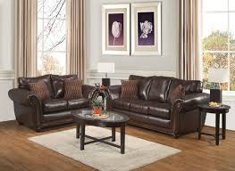 Genuine Leather Sofa And Loveseat Collection In Leather Sofa And Loveseat With Latitude Run Algarve