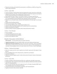 Sample Resume For Utility Worker by Chapter 4 Workforce Competency Models A Guide To Building And