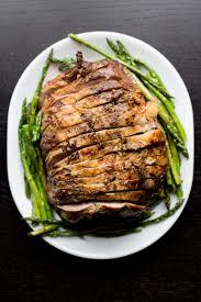 roasted leg of lamb the domestic man