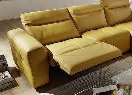 canap relax cuir canapé relaxation design cuir 3 places électrique kingkool
