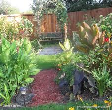 small tropical garden design ideas beautiful tropical garden plan