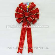 metallic ribbon 6 5 inch metallic ribbon pom bow for decorative or gift packing