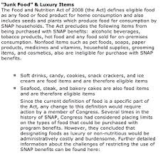 list of eligible food stamp items food stamps help