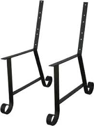 Deck Bench Bracket Steel Bench Brackets And Deck Seating Tables Pinterest