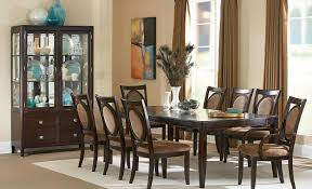 four shapes of dining room tables