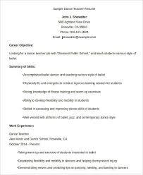 Music Teacher Resume Examples by Professional Teacher Resume Templates 23 Free Word Pdf