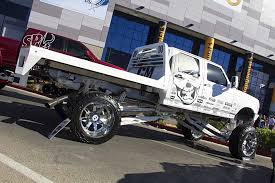 Ford Diesel Utility Truck - work trucks of sema tensema16