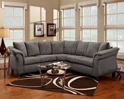 Modern Microfiber Sectional Sofas by Best Grey Microfiber Sectional Sofa 72 With Additional Sofas And