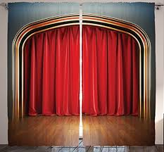 Theater Drape Theater Curtain Amazon Com