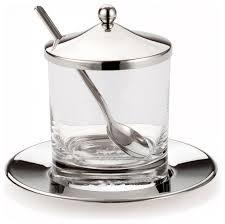 godinger jam jar spoon u0026 tray contemporary kitchen canisters