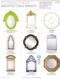 Housebeautiful Magazine by Angelica Mirror In House Beautiful Magazine Clayton Gray Home