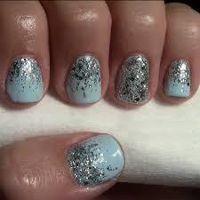 reverse glitter ombré manicure more com