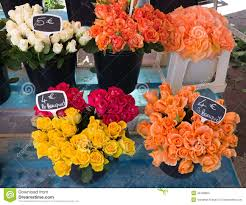 Nice Flowers Nice Flowers In The Street Market Stock Photo Image 40168663