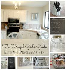 White Chalk Paint Kitchen Cabinets by Livelovediy Creative Ways To Update Your Kitchen Using Paint