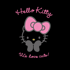 halloween logo black background free black hello kitty hello kitty anime halloween wallpapers