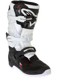 motocross boot bag alpinestars black white tech seven s kids mx boot alpinestars