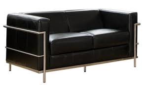 Designer Leather Sofa by Sofas Designer Leather Le Corbusier Bauhaus Style Stylehive