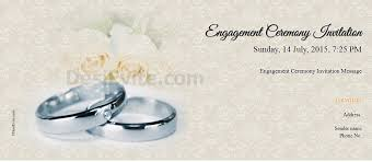 hindu engagement invitations free engagement invitation card online invitations