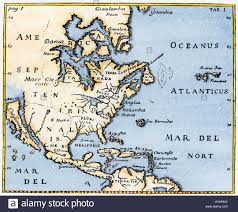1600 Map Of America by North Atlantic Ocean Map Stock Photos U0026 North Atlantic Ocean Map