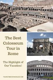 best way to see the colosseum rome best colosseum tour in rome the exclusive experience