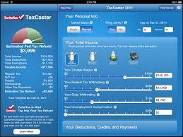 Estimate Tax Refund 2014 by Taxcaster Free Mobile Tax App Launches Estimate Your Tax Refund