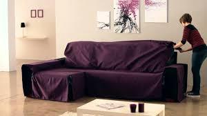 housse canapé angle couvre canapé d angle avec accoudoirs cousus