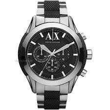 armani watches bracelet images Men 39 s armani exchange chronograph watch ax1214 watch jpg